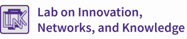 Lab on Innovation in Networks and Knowledge logo